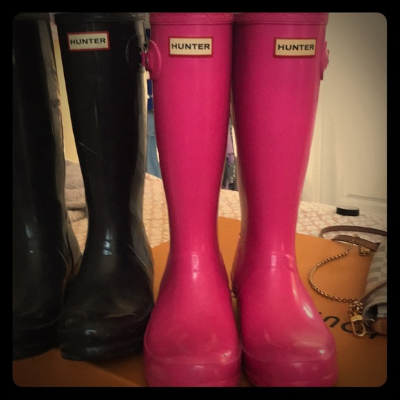 1c6c7a8f9 Hunter Shoes | Wellies Size Uk 4 Us 6 Girls 5 Boys Eu37 | Poshmark